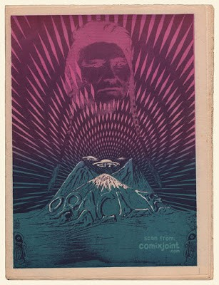 The San Francisco Oracle #8 / Courtesy of Underground Comix