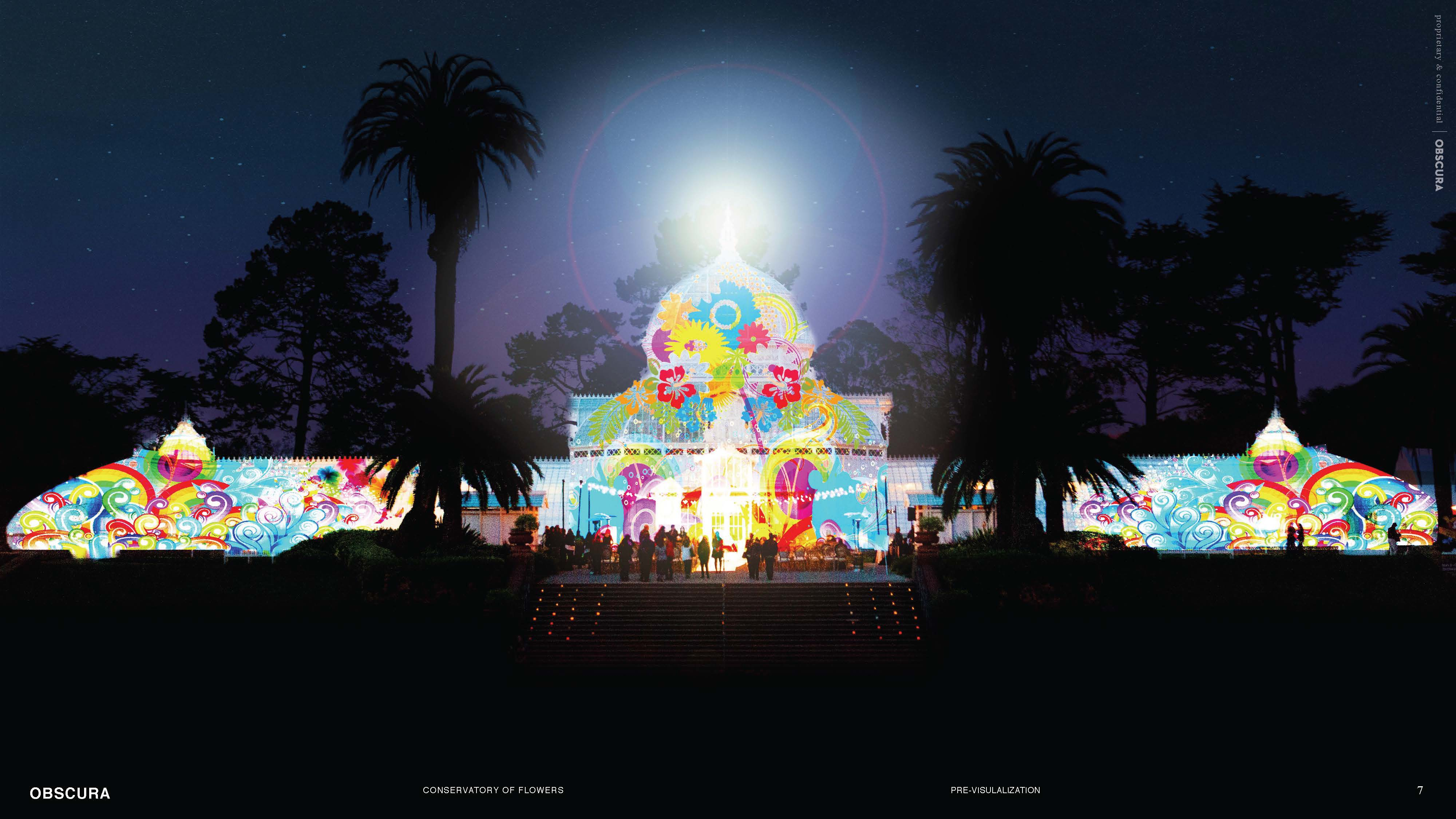 Grand Lighting And Surrealistic Summer Solstice Concert To